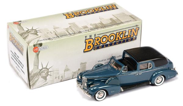 Brooklin Models No.BRK209 1938 Cadillac Series