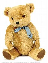 Dean's Childsplay Toys golden mohair Teddy Bear
