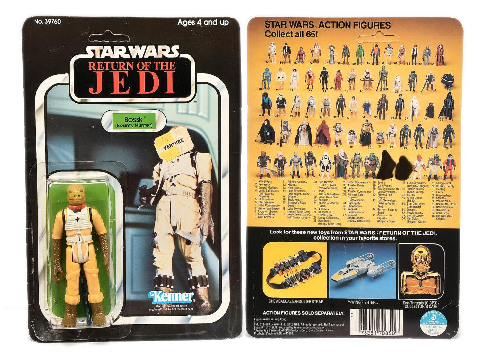 Kenner Star Wars Return Of The Jedi Bossk 3 3 4