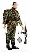 Palitoy vintage Action Man Paratrooper. Black