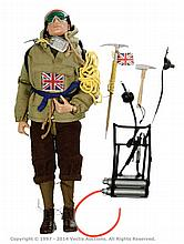 Palitoy vintage Action Man Mountaineer. Red