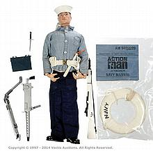 Palitoy vintage Action Man Navy Dress Parade