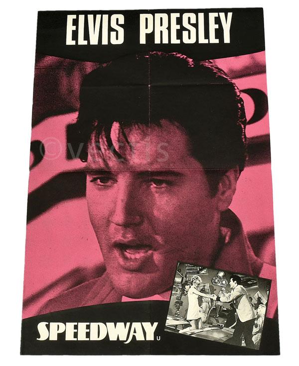 Elvis Presley Speedway Vintage Film Poster, UK