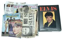 QTY inc Elvis Presley magazines, film reviews