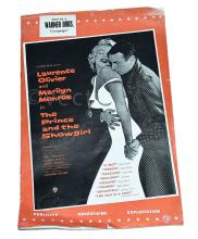 Marilyn Monroe The Prince and the Showgirl film
