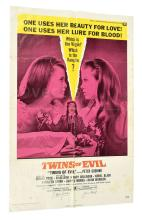 Hammer Twins of Evil original vintage film