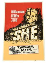 Hammer The Vengeance of She plus Thunder Alley