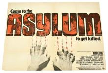 Asylum original vintage film poster, UK quad