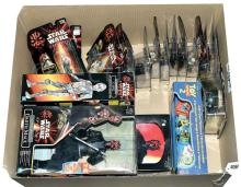 GRP inc Star Wars Episode I toys: (1) Hasbro