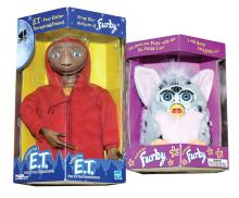 PAIR inc Tiger Electronics Furby pair: (1) ET