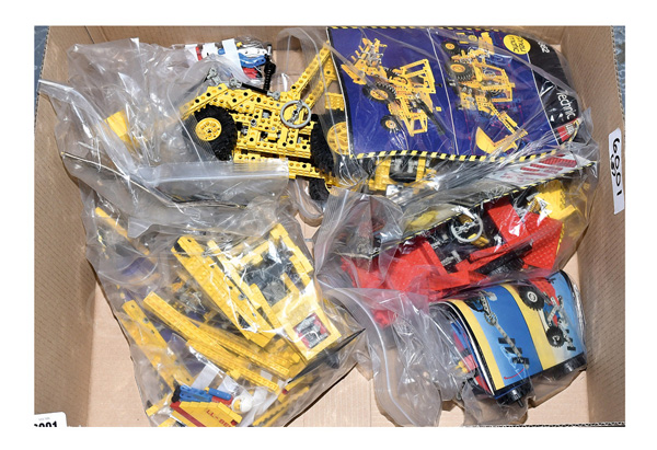 GRP inc Lego Technic vintage loose sets