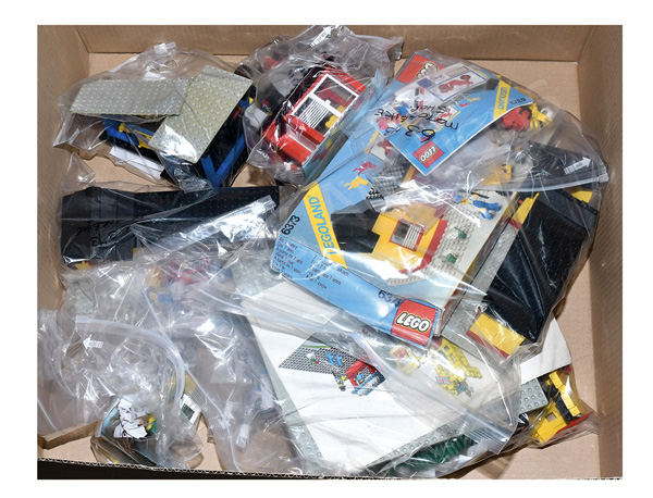 GRP inc Lego Town vintage sets, some are