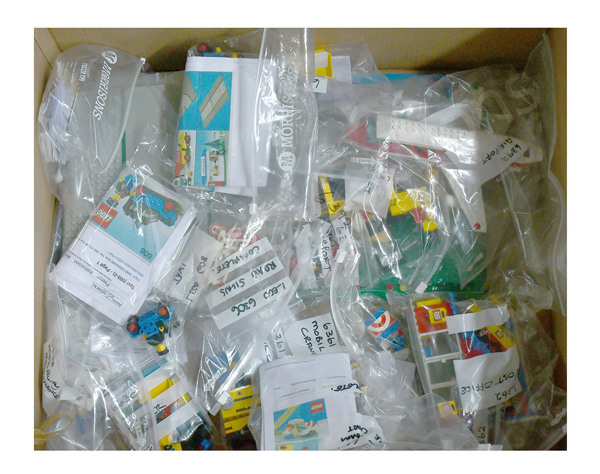 GRP inc Lego Town, loose vintage sets, (1) #6392