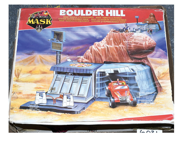 Kenner MASK Boulder Hill Service Station/Bunker