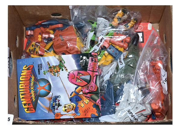 GRP inc Kenner Centurions loose figures