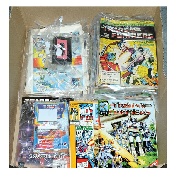 QTY inc Hasbro Transformers vintage