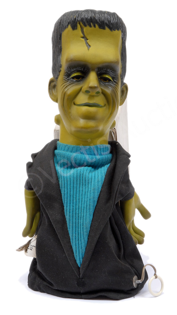 Mattel Hermann Munster talking glove puppet