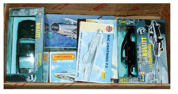 GRP inc Plastic Kits: (1) & (2) Revell Steve