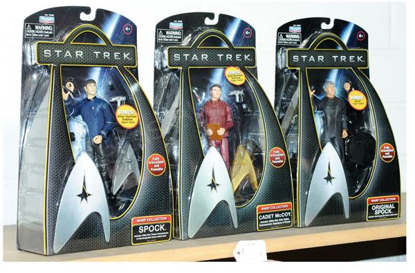 GRP inc Playmates Star Trek Warp Collection 5