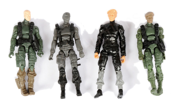 GRP inc Hasbro GI Joe four x prototype 3 3/4