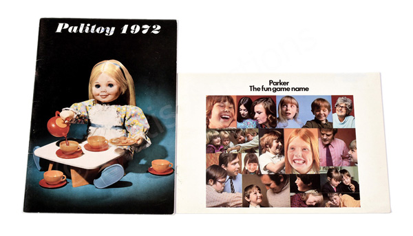 PAIR inc Palitoy and Parker 1972 trade