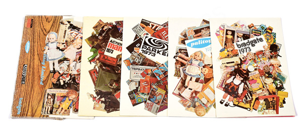 GRP inc Palitoy 1973 folder trade catalogues