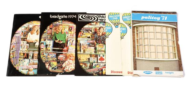 GRP inc Palitoy, Parker and Bradgate 1974 folder