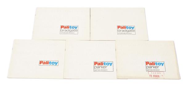 GRP inc Palitoy Parker Bradgate 1976 four trade