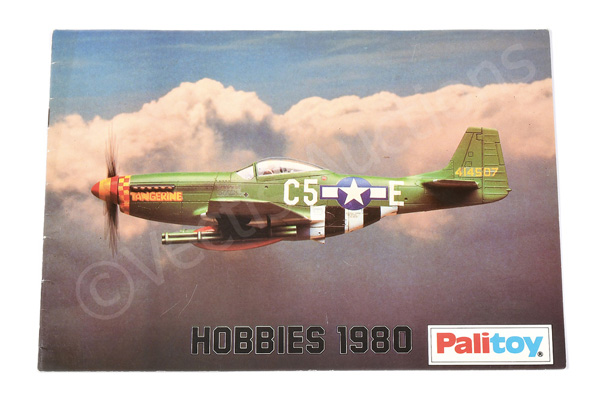 Palitoy Hobbies 1980 retail catalogue- includes