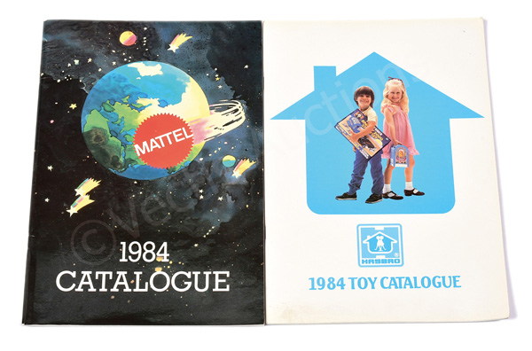 PAIR inc Mattel and Hasbro 1984 trade
