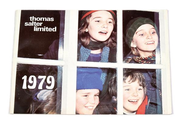 Thomas Salter 1979 Trade Catalogue, includes