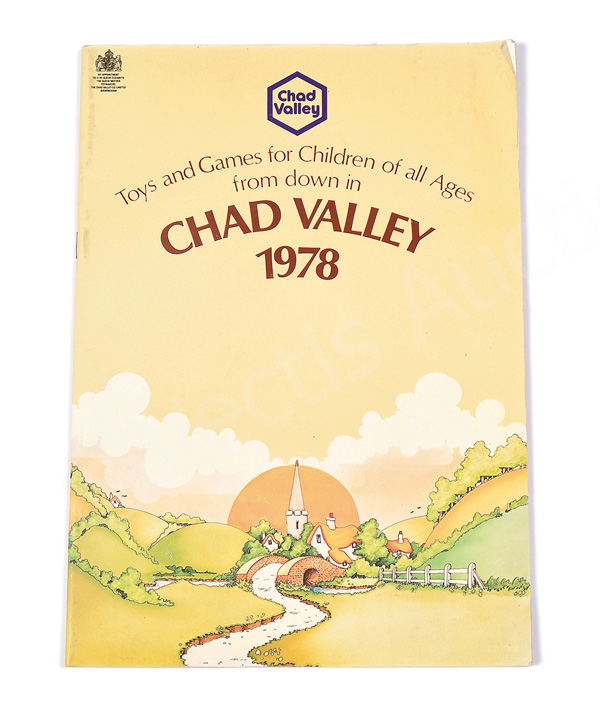 Chad Valley 1978 Wholesale Catalogue, includes