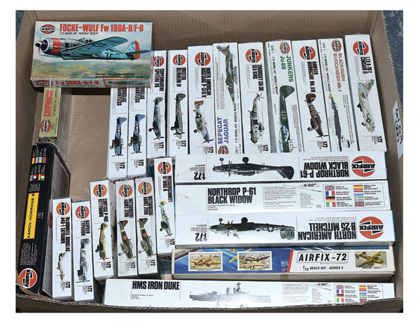 GRP inc Airfix mostly 1:72 scale plastic