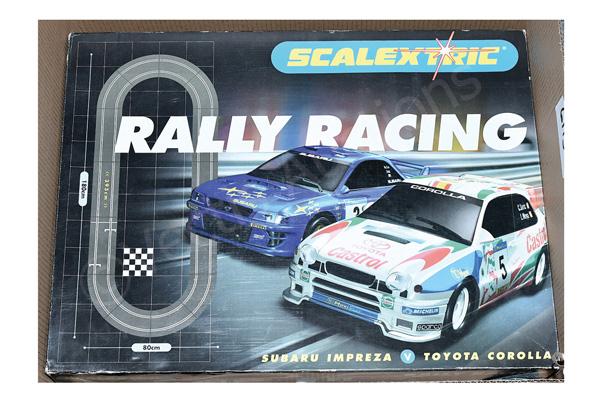 Scalextric Hornby Hobbies Rally Racing Subaru