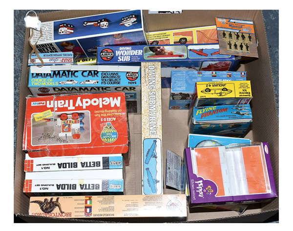 GRP inc Palitoy, Airfix and other toys