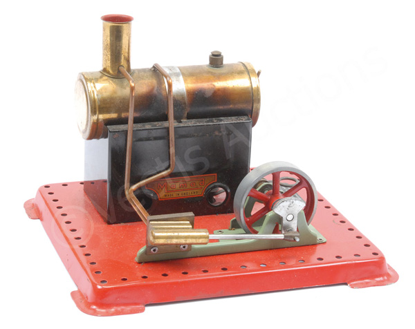 Mamod Stationery Steam engine, with meths