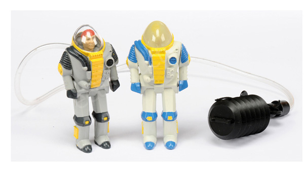 PAIR inc Palitoy Action Force Q Force Deep Sea