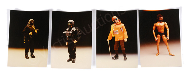 GRP inc Palitoy Action Man four full colour