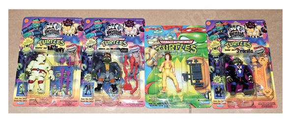 GRP inc Playmates Teenage Mutant Ninja Turtles