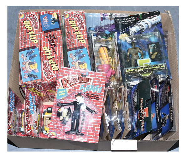 GRP inc Action figures and collectable toys