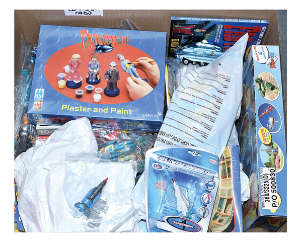 QTY inc Gerry Anderson's toys and collectables