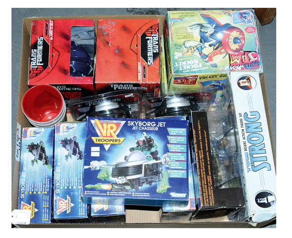 GRP inc Collection of TV & Film related toys