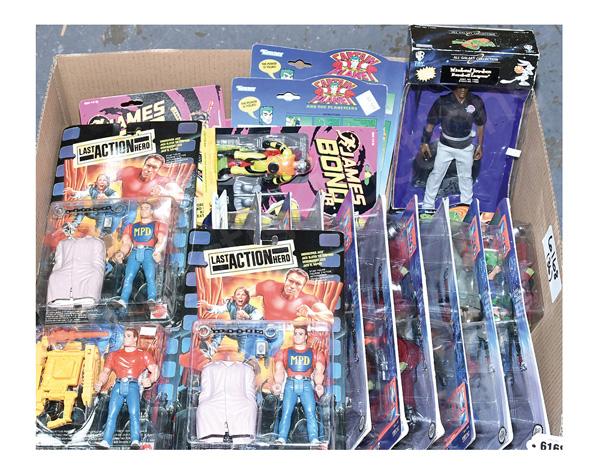 GRP inc Action figures: (1) - (3) Mattel Last