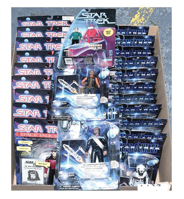 GRP inc Playmates Star Trek action figures