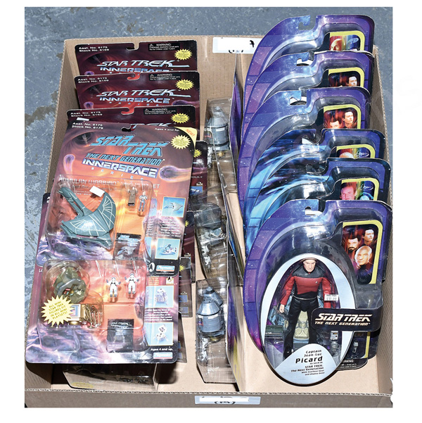 GRP inc Playmates Star Trek action figures