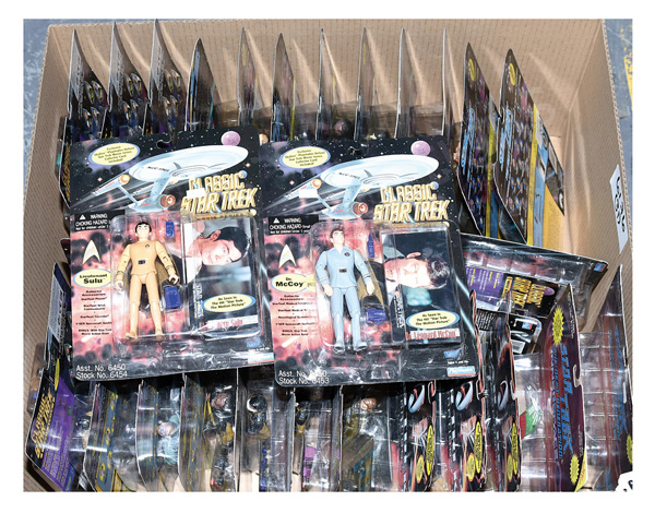GRP inc Bandai Playmates Star Trek action