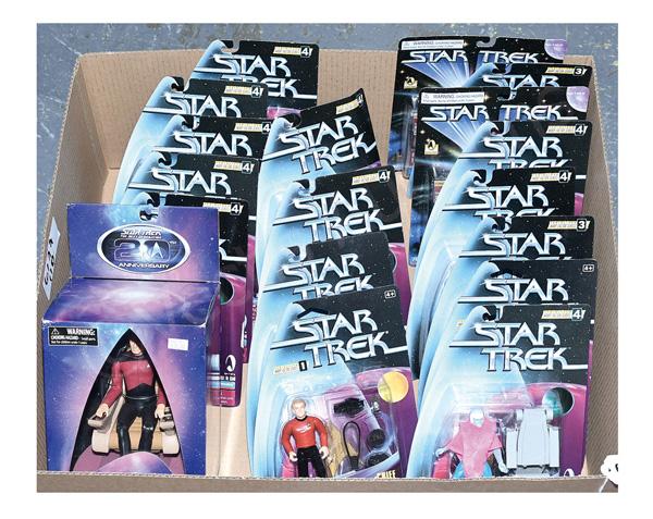GRP inc Bandai Playmates Star Trek action
