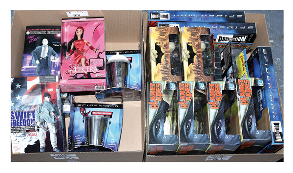 GRP inc Action figures (1) - (4) Hasbro Planet