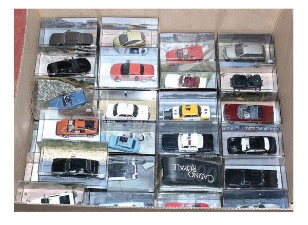 GRP inc Danjaq EON James Bond cars x thirty-two
