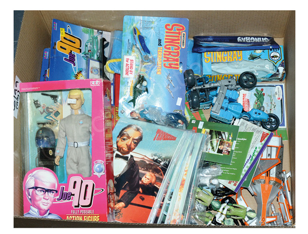 QTY inc Gerry Anderson toys and collectables